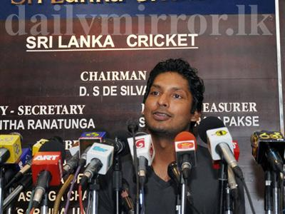 Sangakkara steps down