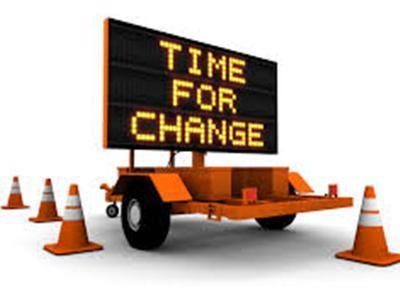 Has the change been changed?  -Theva Abira-