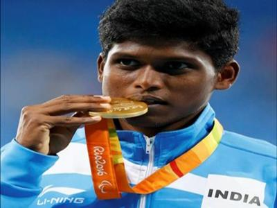 Thangavelu, who hails from Tamil Nadu, strikes gold at Rio Paralympics