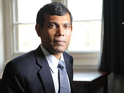 Nasheed due in Colombo today, to meet diplomats